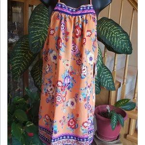 BeBop Be You Be Free Floral Dress (Juniors)